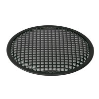 """Grille 12"""", round, square-perf."""