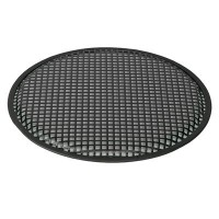 """Grille 15"""", round, square-perf."""