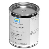 Warnex textured paint black, 1kg